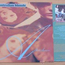 Discos de vinilo: AUSTRALIAN BLONDE LP AFTERSHAVE 1994 SUBTERFUGE RECORDS. Lote 32990419