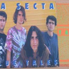 Discos de vinilo: LA SECTA LP BLUE TALES 1993 MUNSTER RECORDS. Lote 32990487