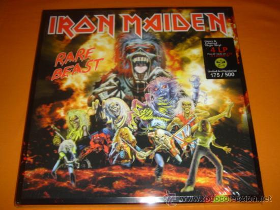 Iron maiden rare beast 4 lp 3 cd box set port comprar for Edicion 3d online