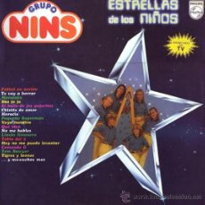 Discos de vinilo: LP DE GRUPO NINS AÑO 1981 EDICIÓN ESPAÑOLA. Lote 32992719