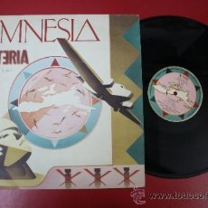 Discos de vinilo: MAXI SINGLE AMNESIA HYSTERIA, REMIX VERSION 4.00, FINAL PSYCHO MIX 5,30 - 1989 NOW DISCS . Lote 32995895