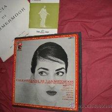 Discos de vinilo: LUCIA DI LAMMERMOOR..CALLAS..TAGLIAVINI CAJA 2 LP LIBRETO Y ENCARTE 1972 SPA EMI VER FOTO ADICIONA. Lote 33001422