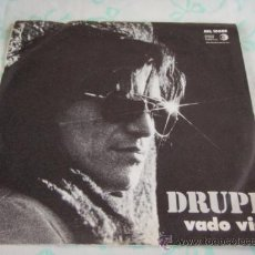Discos de vinilo: 'SAN REMO 1973' DRUPI ( VADO VIA - SEGUI ME ) SWITZERLAND SINGLE45 DA DISCHI RECORDI. Lote 33003641