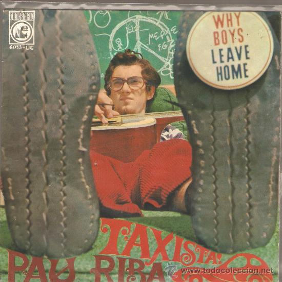 EP PAU RIBA : TAXISTA (Música - Discos de Vinilo - EPs - Cantautores Españoles)