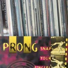 Discos de vinilo: PRONG - SNAP YOUR FINGERS. Lote 33009388