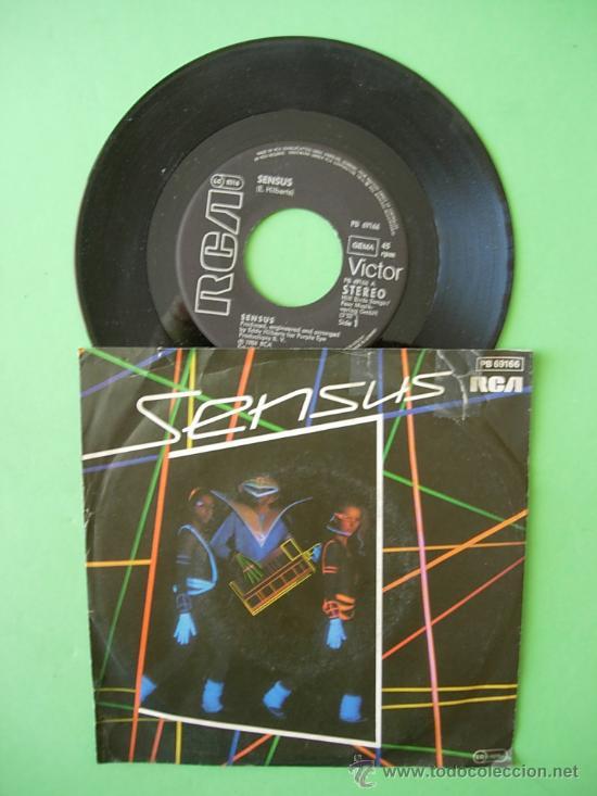 DISCO VINILO SINGLE SENSUS , HILBERT , 1984 (Música - Discos - Singles Vinilo - Otros estilos)