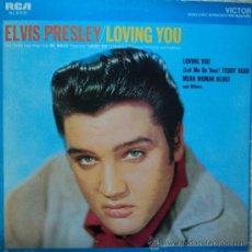 Discos de vinilo: ELVIS PRESLEY - LOVING YOU - EDICIÓN DE 1986 DE ESPAÑA. Lote 33040793