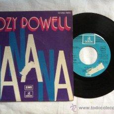 "Discos de vinilo: COZY POWELL-NANANA-MISTRAL 7"". Lote 33025523"