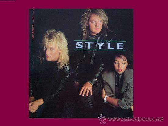 STYLE LP DAYLIGHT ROBBERY 1987 ALPHA CON ENCARTE (Música - Discos - LP Vinilo - Pop - Rock - New Wave Extranjero de los 80)