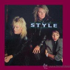 Discos de vinilo: STYLE LP DAYLIGHT ROBBERY 1987 ALPHA CON ENCARTE. Lote 33027366