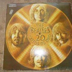 Discos de vinilo: DISCO DE VINILO L. P. DE THE BEATLES, 20 EXITOS DE ORO: SHE LOVES YOU, HELP, SOMETHING ODEON 1979. Lote 226626090