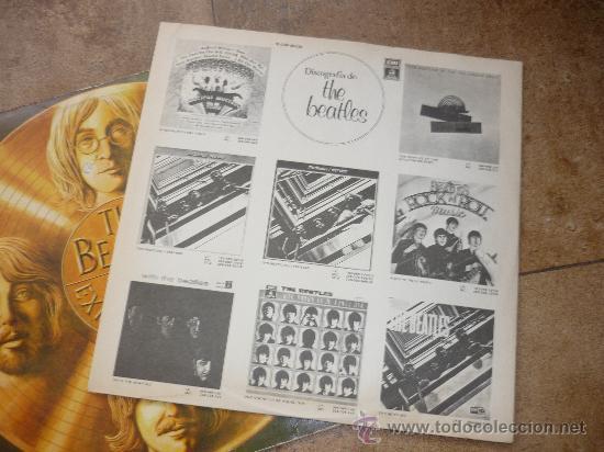 Discos de vinilo: Disco de vinilo L. P. de The Beatles, 20 Exitos de Oro: She loves you, Help, Something ODEON 1979 - Foto 2 - 226626090