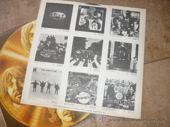 Discos de vinilo: Disco de vinilo L. P. de The Beatles, 20 Exitos de Oro: She loves you, Help, Something ODEON 1979 - Foto 3 - 226626090