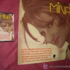 Discos de vinilo: MINA LP Y CASSETTE SELLO IMPACTO SPA 1977 VER FOTOS ADICIONALES. Lote 33036500