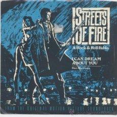 Disques de vinyle: DAN HARTMAN,DE LA B.S.O. DE STREETS OF FIRE, I CAN DREAM ABOUT YOU . Lote 33036994