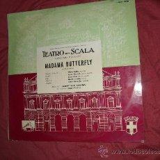Discos de vinilo: PUCCINI MADAME BUTERFLY-SELECCION-CALLAS-DANIELI-KARAJAN LP EMI SPA 1965 VER FOTO ADICIONAL. Lote 36490464