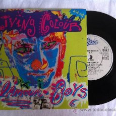 """Discos de vinilo: LIVING COLOUR-GLAMOUR BOYS-MIDDLEMAN-CULT OF PERSONALITY-OPEN LETTER EP. 7"""". Lote 33044309"""