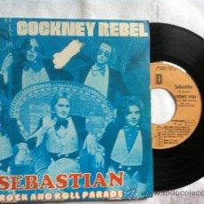 """Discos de vinilo: COCKNEY REBEL-SEBASTIAN-ROCK AND ROLL PARADE-7"""". Lote 33045503"""
