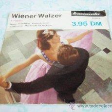 Discos de vinilo: 'VALS VIENA' (WIENER PRATERLEBEN - KUCKUCKSWALZER - KAISERWALZER - MONDNACHT AUF DER ALSTER) EP45. Lote 33045707