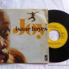 """Discos de vinilo: ISAAC HAYES-JOY PART 1 Y 2..7"""". Lote 33045747"""