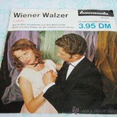 Discos de vinilo: 'VALS VIENA' (WIENER BLUT - G'SCHICHTEN AUS DEM WIENERWALD - ROSEN AUS DEM SÜDEN - AN DER . Lote 33045798