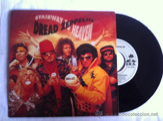 """DREAD ZEPPELIN-STAIRWAY TO HEAVEN-JAIHOUSE ROCK 7"""" (Música - Discos - Singles Vinilo - Pop - Rock Internacional de los 90 a la actualidad)"""