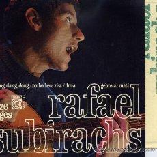 Discos de vinilo: RAFAEL SUBIRACHS (ELS SETZE JUTGES) : LES DING,DONG/ (4 CANCIONES) CONCENTRIC 1967. Lote 33049039