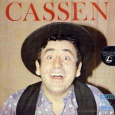 Discos de vinilo: CASSEN: COMO RELLENAR SUS QUINIELAS (SG.) ORLANDO 1973 EDICIÓN CIRCULO LECTORES. Lote 33049312