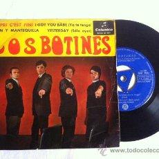 Discos de vinilo: LOS BOTINES-CAPRI C'EST FINI-I GOT YOU BABE-YESTERDAY..EP 7. Lote 33050045
