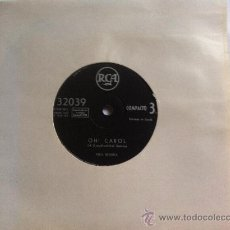 Discos de vinilo: NEIL SEDAKA-OH CAROL-ONE WAY TICKET 7