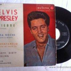 Discos de vinilo: ELVIS PRESLEY-FIEBRE-ESA NOCHE-CUENTAMELO...EP 7