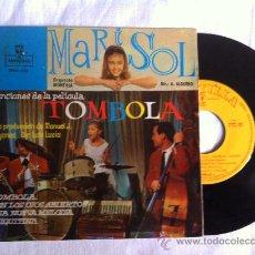 Discos de vinilo: MARISOL-TOMBOLA- CON LOS OJOS ABIERTO-CHIQUITINA -EP 7