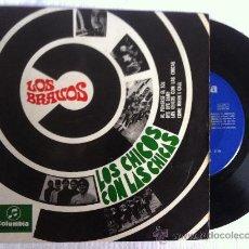 Discos de vinilo: LOS BRAVOS-LOS CHICOS CON LAS CHICAS-AL PONERSE EL SOL..EP 7