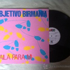"""Discos de vinilo: OBJETIVO BIRMANIA-BAILA PARA MI 12"""". Lote 33055107"""