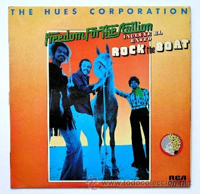 THE HUES CORPORATION ••• FREEDOM FOR THE STATION (LP) (Música - Discos - LP Vinilo - Funk, Soul y Black Music)