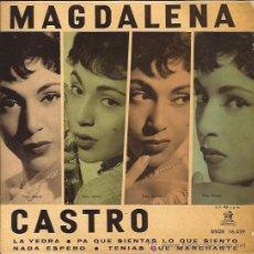 Discos de vinilo: EP-MAGDALENA CASTRO-ODEON 16439-LA YEDRA. Lote 33063493