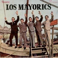 Discos de vinilo: LOS MAYORICS - VERDES CAMPIÑAS ( GREENFIELDS ) - PIDE ( GUIJARRO ALGUERO ) + 2 - EP 1961 VG+ / EX. Lote 33064247