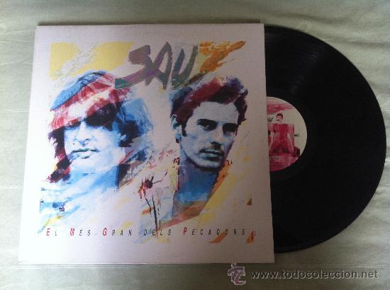 """SAU-EL MES GRAN DELS PECADORS LP"""" (Música - Discos - Singles Vinilo - Pop - Rock Extranjero de los 90 a la actualidad)"""