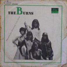 Discos de vinilo: THE BURNS - R&B IN TOKYO (ESPAÑA - SELLO CID - 1968) ULTRA RARO LP!! POKORA. Lote 33079900