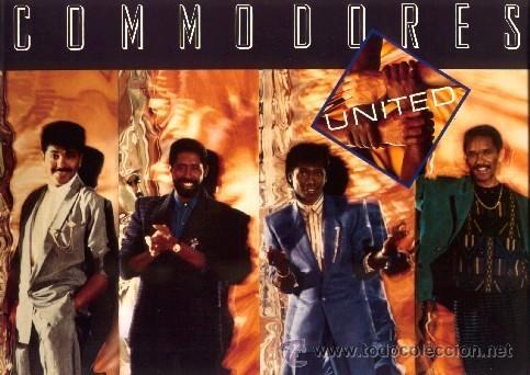 COMMODORES ••• UNITED - (LP) (Música - Discos - LP Vinilo - Funk, Soul y Black Music)