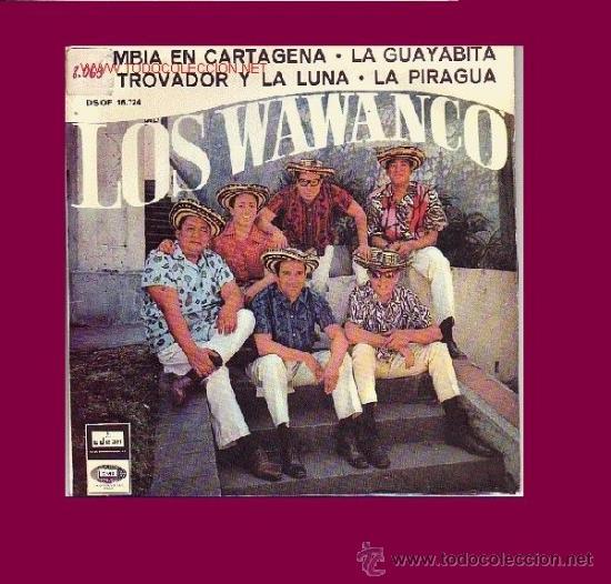 LOS WAWANCO DISCO EP (Música - Discos de Vinilo - EPs - Grupos y Solistas de latinoamérica)
