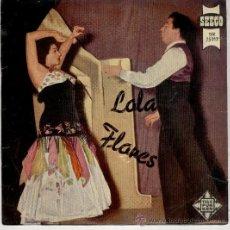 Discos de vinilo: LOLA FLORES - LA NANA - MIL BESOS + 2 - EP SPAIN 1958 - EX / VG. Lote 33090045