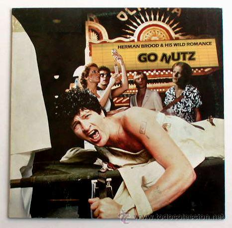 HERMAN BROOD & HIS WILD ROMANCE - GO NUTZ (LP) (Música - Discos - LP Vinilo - Pop - Rock - New Wave Extranjero de los 80)