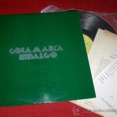 Discos de vinilo: GINAMARIA HIDALGO LP 1973 MICROFON ED ESPAÑOLA + 3 HOJAS PROMO . Lote 33103212