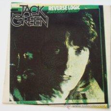 Discos de vinilo: JACK GREEN - REVERSE LOGIC (LP). Lote 33103436
