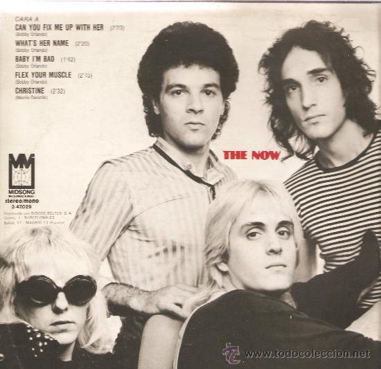 Discos de vinilo: LP THE NOW (BOBBY ORLANDO BAND ) - Foto 2 - 33107239