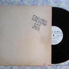 Discos de vinilo: LP-CABARET VOLTAIRE-LIVE YMCA. Lote 33110893
