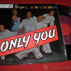 """Dischi in vinile: THE PLATTERS ONLY YOU / WHY SHOULD I? / REMEMBER WHEN ..+1 7"""" EP 1958 MERCURY EDICION ESPAÑOLA SPAIN. Lote 33111232"""