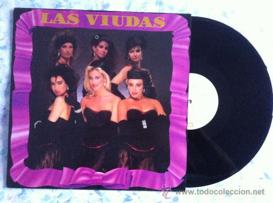 LP-LAS VIUDAS (Música - Discos - Singles Vinilo - Grupos Españoles de los 70 y 80)