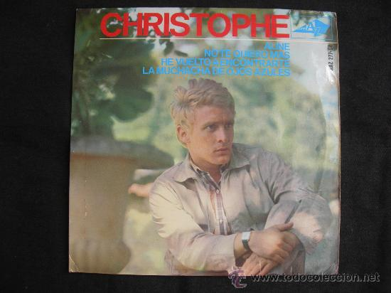 EP CHRISTOPHE // ALINE + 3 (Música - Discos de Vinilo - EPs - Canción Francesa e Italiana)